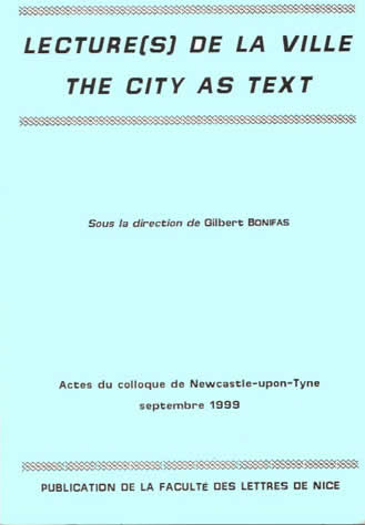 City as Text Cover